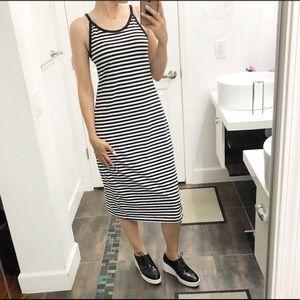 Old Navy striped dress size large
